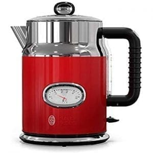 Russel Hobbs Stainless Steel Electric Kettles Red