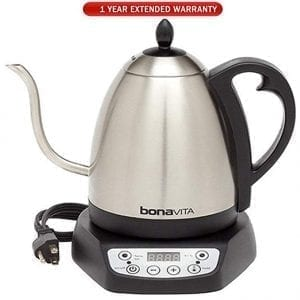 Bonavita 1.0L Digital Variable Temperature Gooseneck Kettles