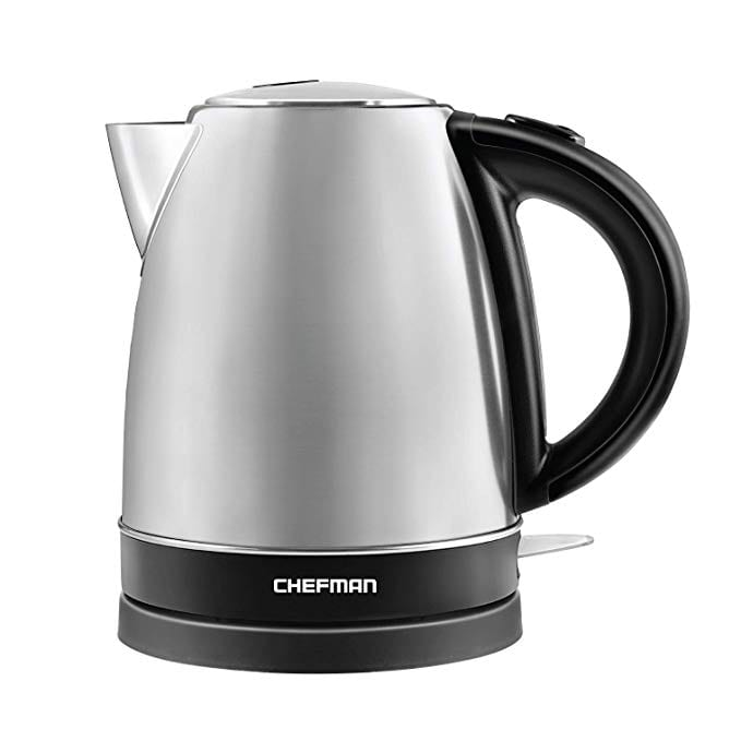 Chefman Stainless Steel Electric Kettles BPA Free