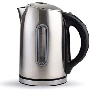 Chef's Star Electric Kettles Stainless Steel Temperature Control