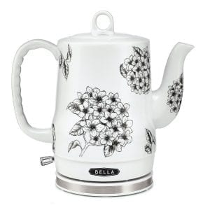 Bella Ceramic Electric Tea Kettles Auto Shut-off Cordless
