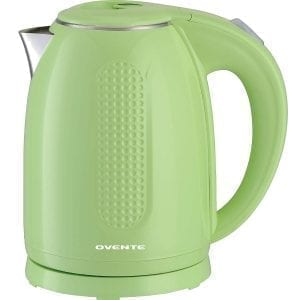 Ovente Electric Kettles Stainless Steel Double Wall BPA Free