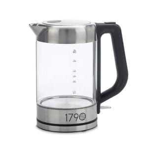 1790 Glass Electric Kettles Stainless Steel BPA Free Cordless