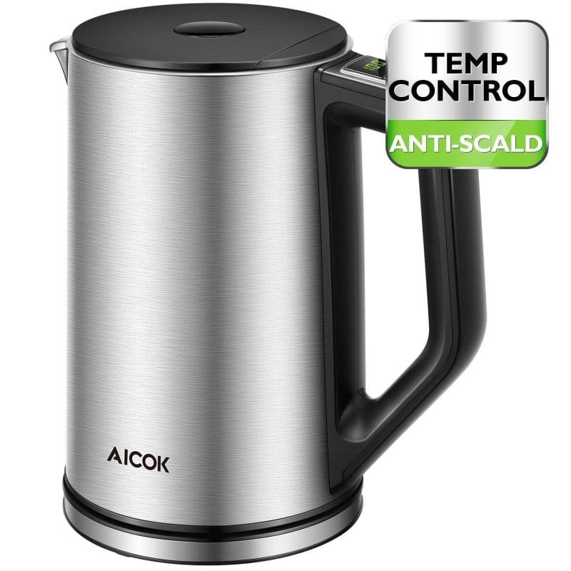 Aicok Electric Kettles Temperature Control Stainless Steel