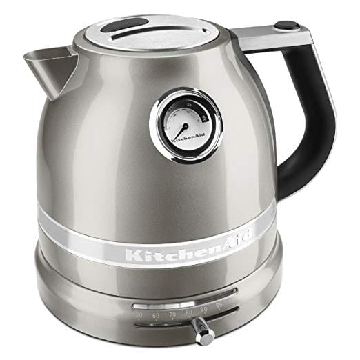 KitchenAid Pro Line Electric Kettles Variable Temperature Silver