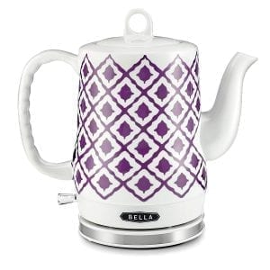 Bella Ceramic Electric Tea Kettles Cordless