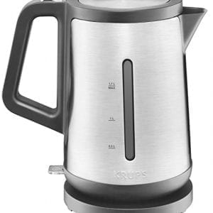 Krups Electric Kettles Auto Shut-Off Stainless Steel Silver