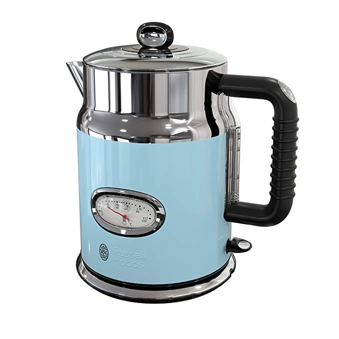Russell Hobbs Retro Style Electric Kettles Blue
