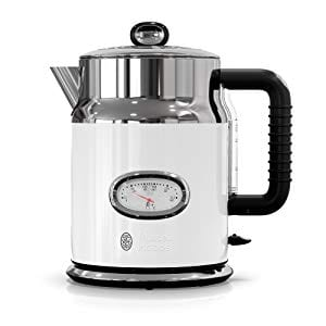 Russell Hobbs Electric Kettles Retro Style Temperature Gauge