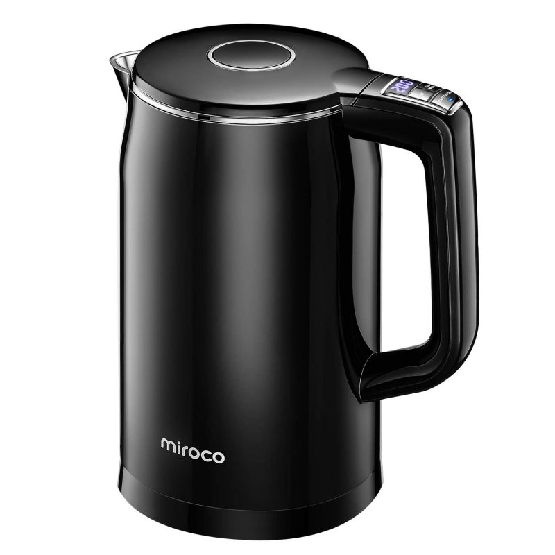 Miroco Electric Kettles Stainless Steel Temperature Control 1.7L