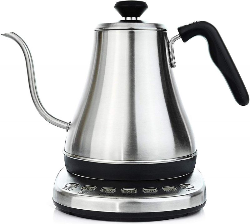 Willow and Everett Electric Kettles Gooseneck Temperature Control