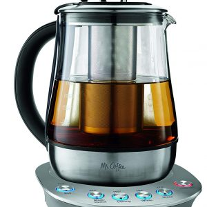 Mr Coffee Electric Kettles Glass Stainless Steel Infuser Presets