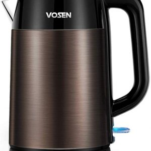 VOSEN Electric Kettles Stainless Steel BPA Free Fast Boiling