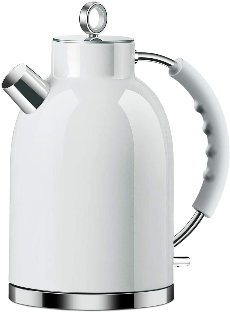 ASCOT Electric Kettles Stainless Steel BPA Free Auto Shut-Off