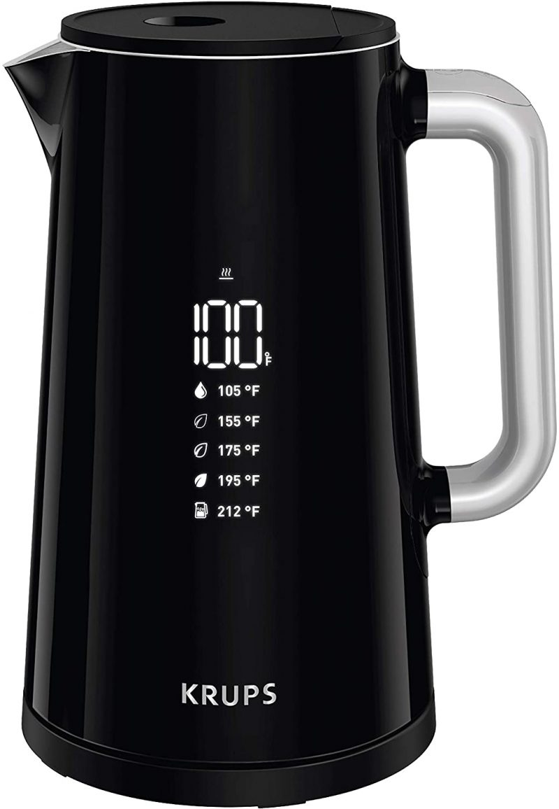 KRUPS Electric Kettles Variable Temperature Stainless Steel 1.7L