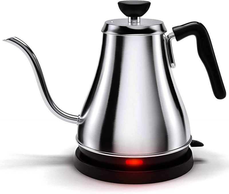 Willow & Everett Electric Kettles Stainless Steel Gooseneck 1L