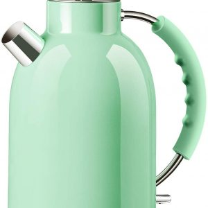 ASCOT Electric Kettles Stainless Steel BPA Free Cordless Green