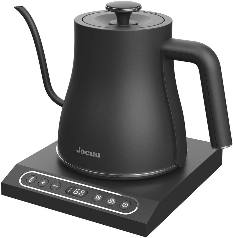 Jocuu Electric Kettles Stainless Steel Variable Temperature 0.8L