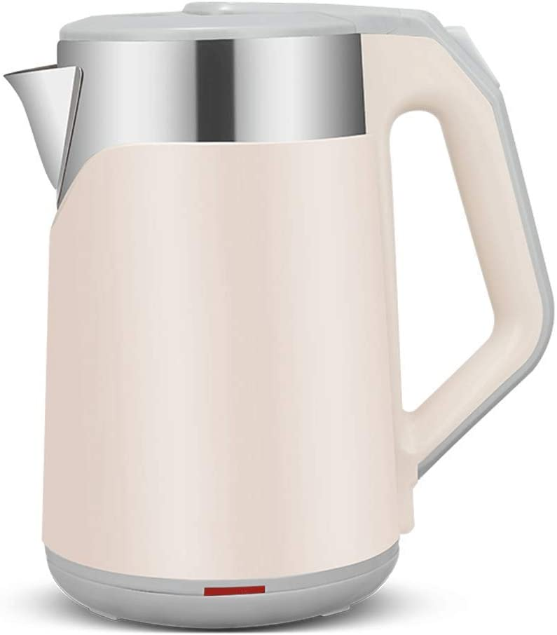 YUEXING Electric Kettles Stainless Steel Auto Shut-Off 2.3L Pink