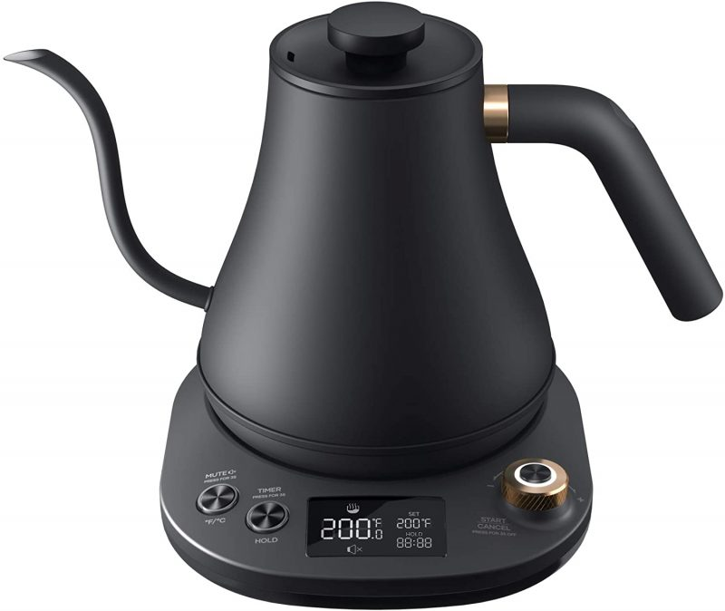 WILLSENCE Electric Kettles Stainless Steel Temperature Controll