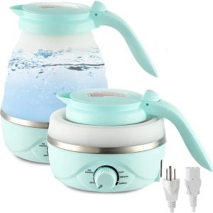 GOOTRADES Electric Kettles Foldable Variable Temperature 0.7L